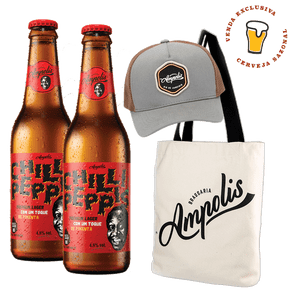 Kit-Cerveja-Ampolis-Chilli-Peppis-335ml---Bone---Ecobag-Ampolis