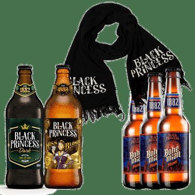Kit-Inverno-3---Cervejas-Black-Princess---Cachecol-Black-Princess